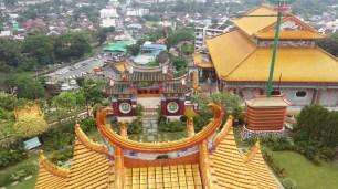 Kek Lok Si temple looking down