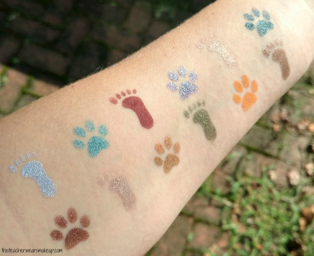 Clionadh Cosmetics Paleo Palette