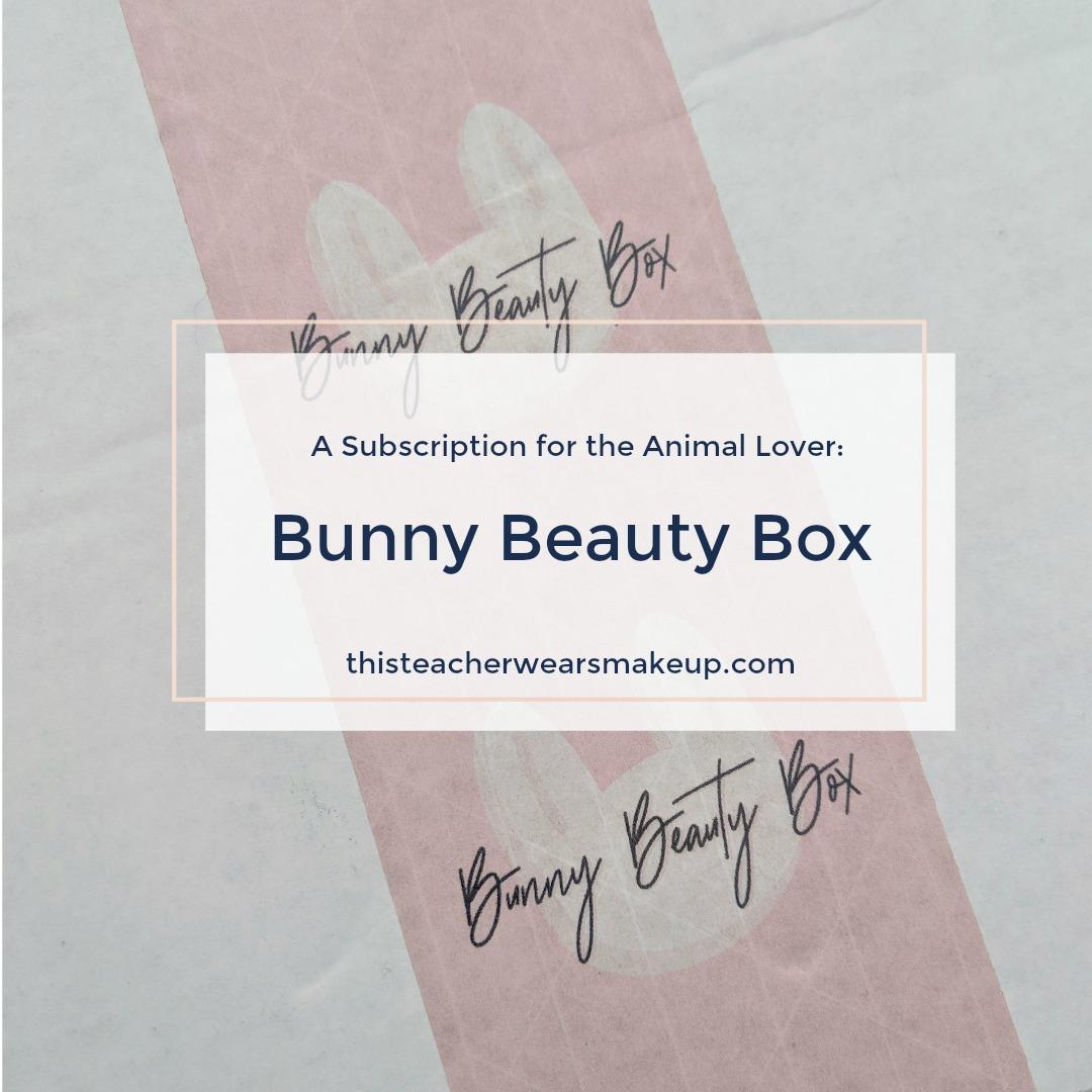Bunny Beauty Box