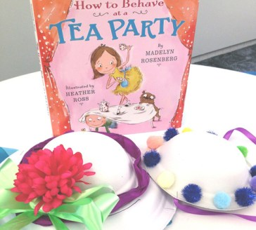 Fancy Hat Activity from HarperCollins
