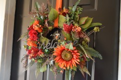 My fall wreath