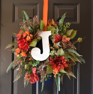 Madre's fall wreath