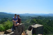 Sitting on the Great Wall