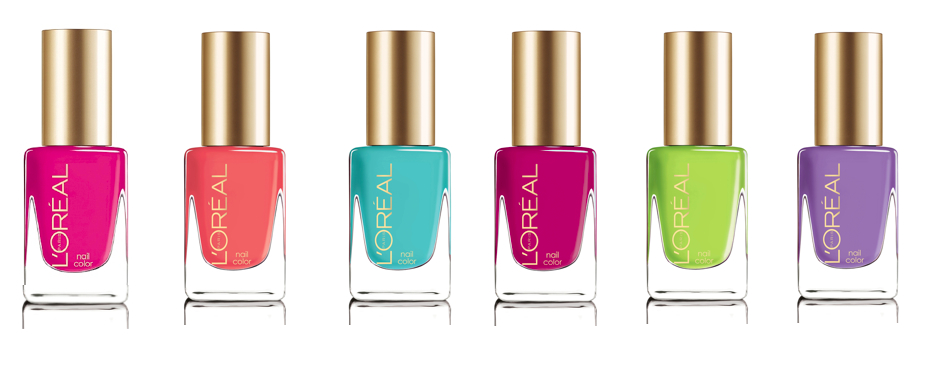 L Oreal Colour Riche Nail Trend Setter Collection Shades From Left To Right