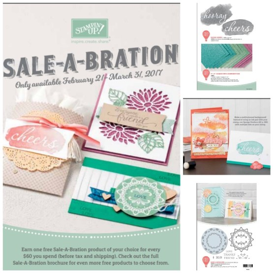 New Sale-A-Bration items now available