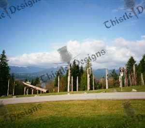 Photo Card Totem Poles