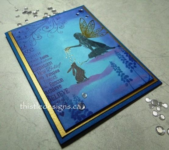Fairy Dust Silhouette