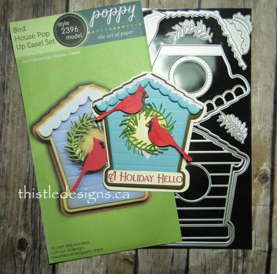 Bird House Easel Card