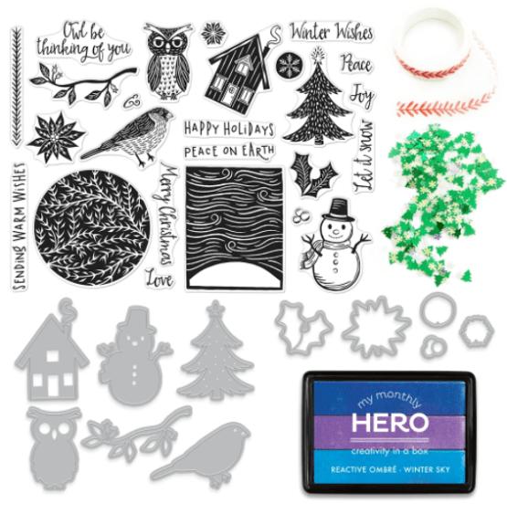 Hero Arts November My Monthly Hero Kit