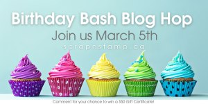 Scrap 'N Stamp birthday bash blog hop
