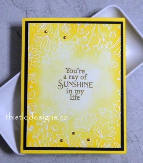 Sunny, Cheerful Card