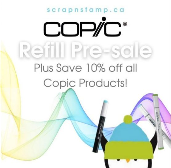 Copic Sale and Pre Order