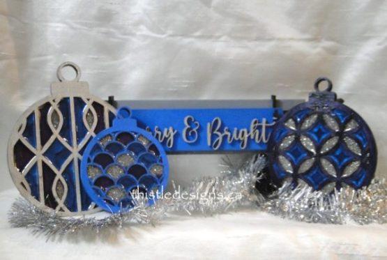 Christmas Ornaments Wagon