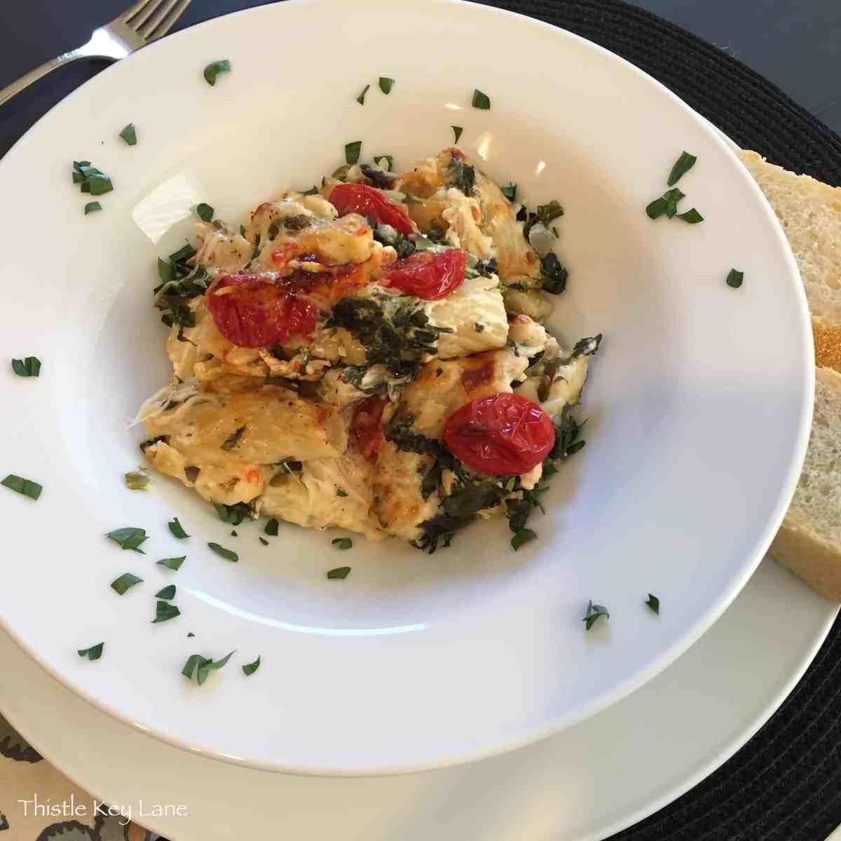 Dinner for Hubby