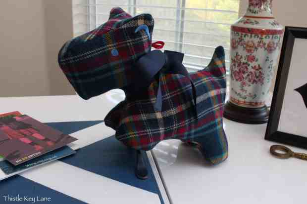 Tartan Scottie Dog from Ness