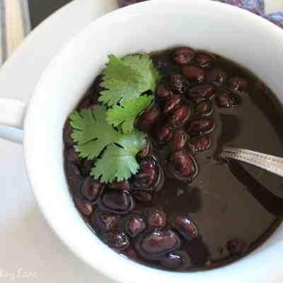 salsa black bean soup