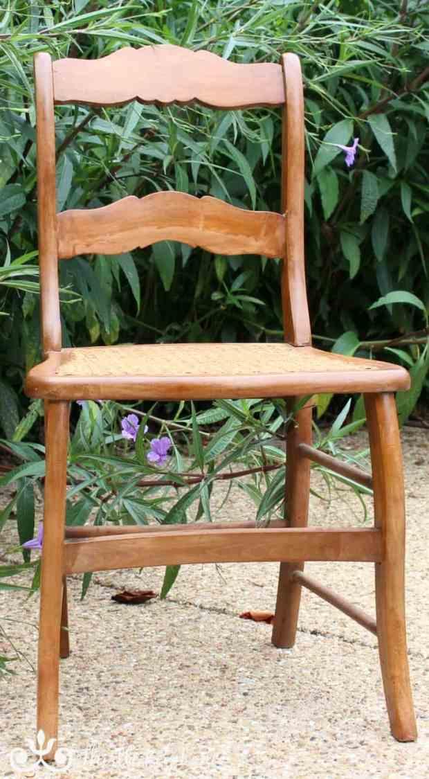 Cane Chair Rescue   Thistle Key Lane