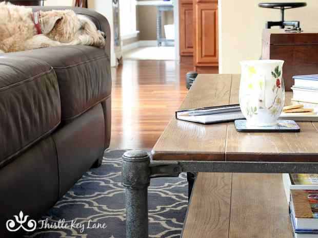 Adding warm style to your home for the winter months.