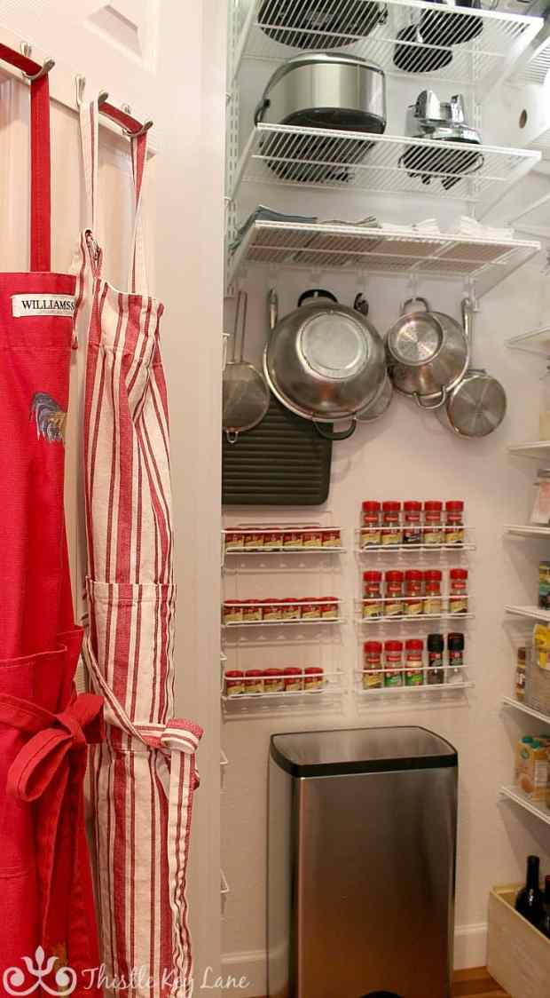 Organizing A Kitchen Pantry. Thistle Key Lane
