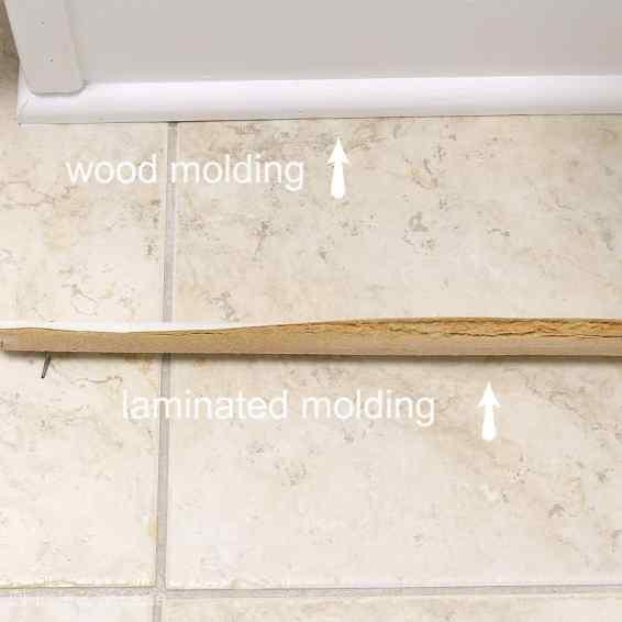 Replacing damaged molding