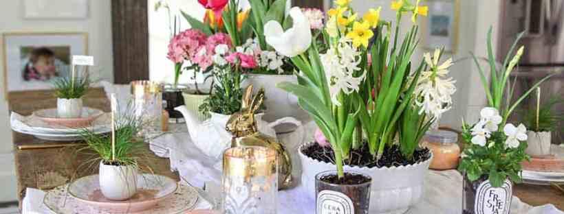 Modern Glam Easter Eggs