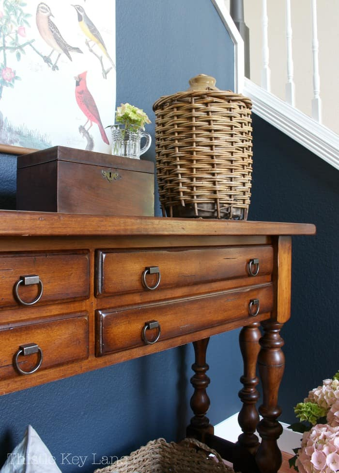 Give furniture a new look by replacing the hardware