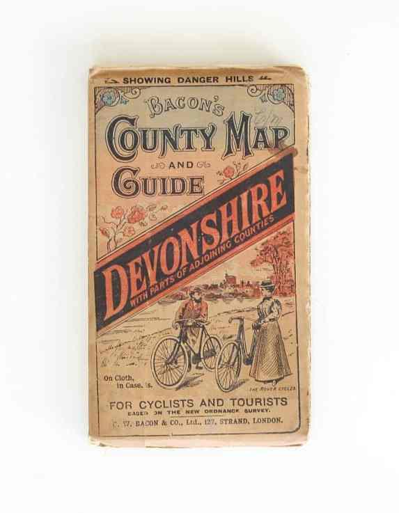 Vintage pocket map for tourist.