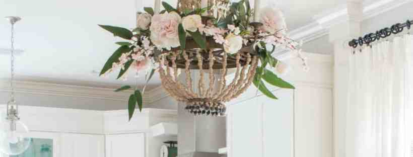 Blush and cream tablescape from Saw Nail and Paint.