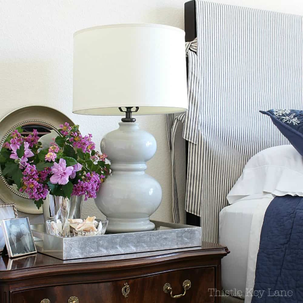 Headboard Slipcover