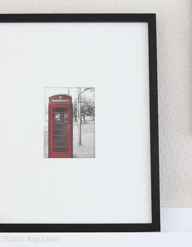 Easy framing ideas for photos.