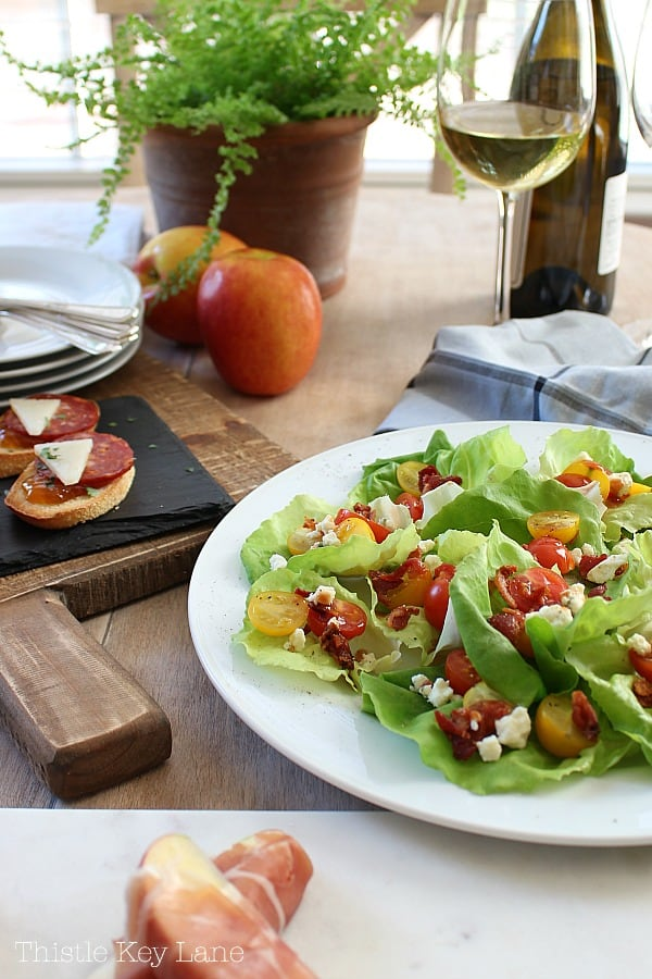 Lettuce cup recipe to save for later. #easyrecipes #appetizerrecipes