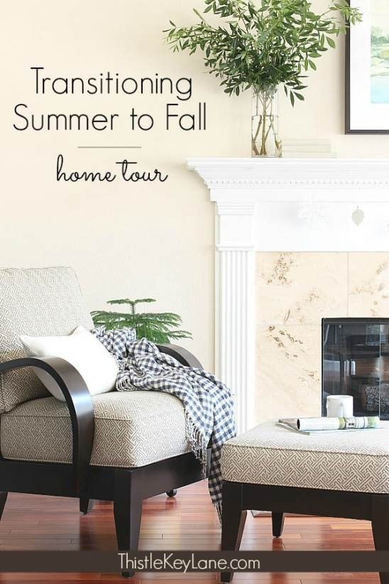 Transitioning from summer to fall home tour. #falldecor #transitionaldecor #vintagedecor #neutraldecor