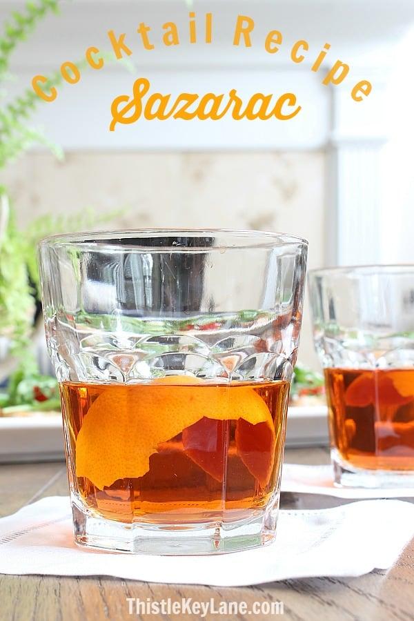 Sazarac Cocktail Recipe
