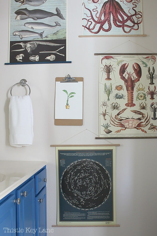 Decorate walls with posters.