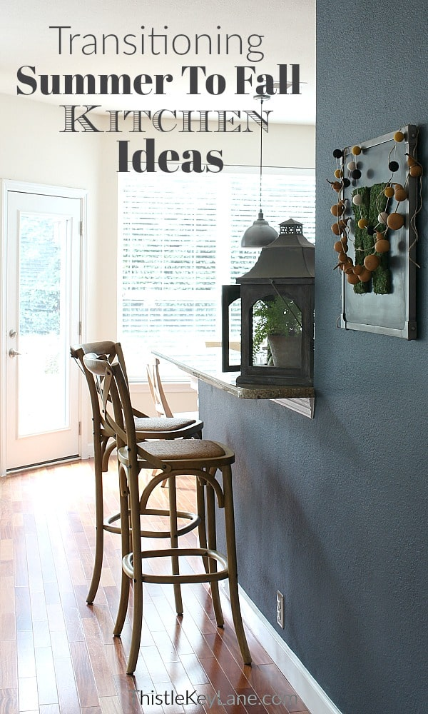 Transitioning Summer To Fall Kitchen Ideas Tour
