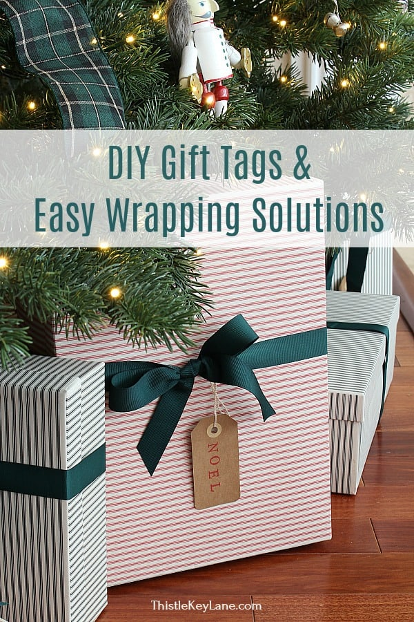 DIY Christmas Gift Tags And Easy Wrapping Solutions