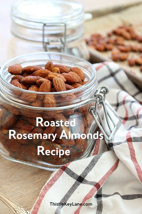 Roasted Rosemary Almonds Recipe
