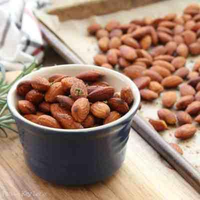 Roasted Rosemary Almonds Recipe