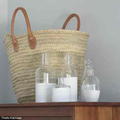 How To Create Vases With Chalk Paint