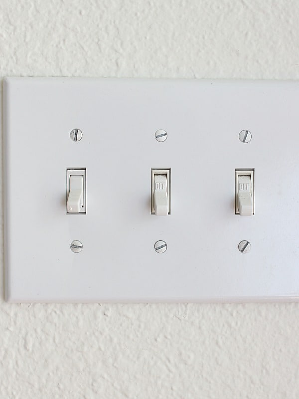 Replace Old Light Switch Plates