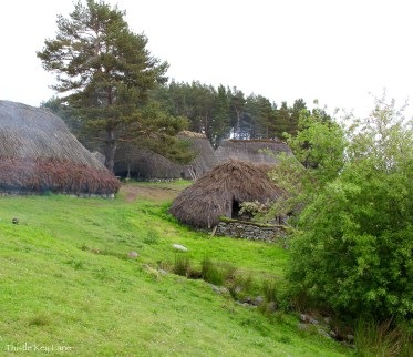 Village at the Highland Folk Museum
