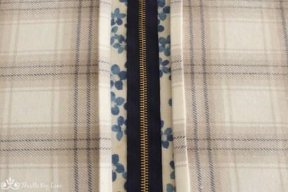 Fold and iron fabric for a nice seam