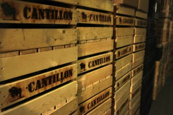 Photo: Cantillon Geuze crates