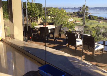 Clear glass window cleaning Perth.