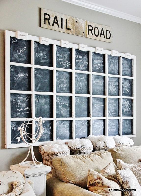 Chalkboard-Calender