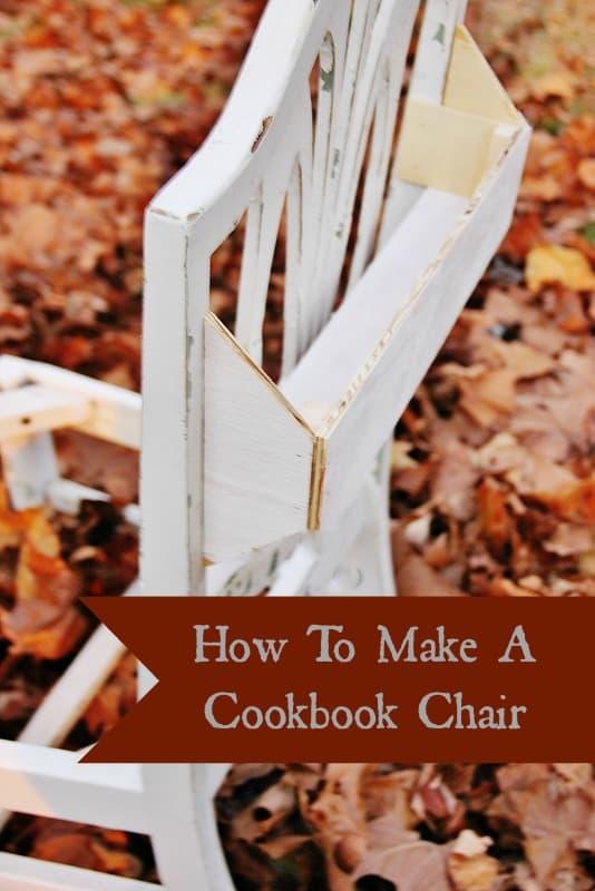 Cookbook Chair