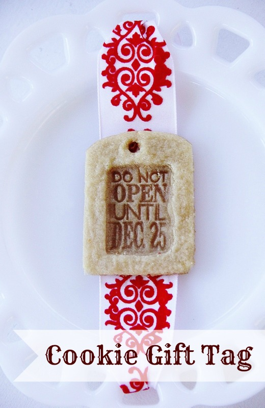 Cookie Gift Tag