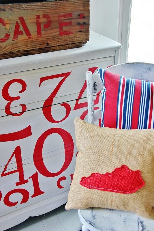 How-to-paint-a -dresser-with-numbers