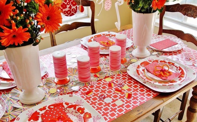 Gorgeous table decorations