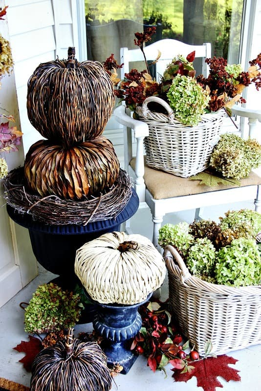 Decorating your home for fall on a budget is possible and festive.